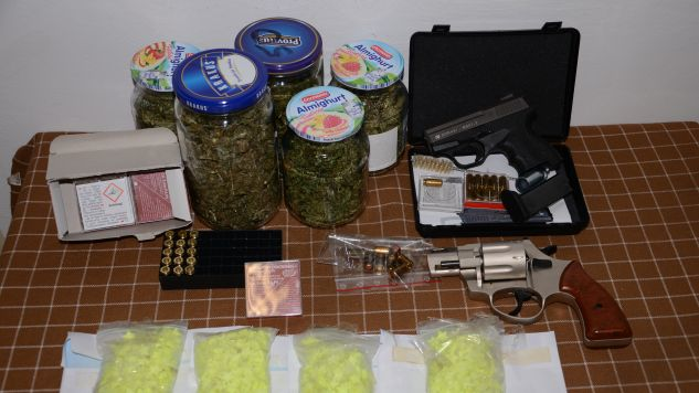 Przedmioty znalezione u przestępców  (fot. CBŚP)