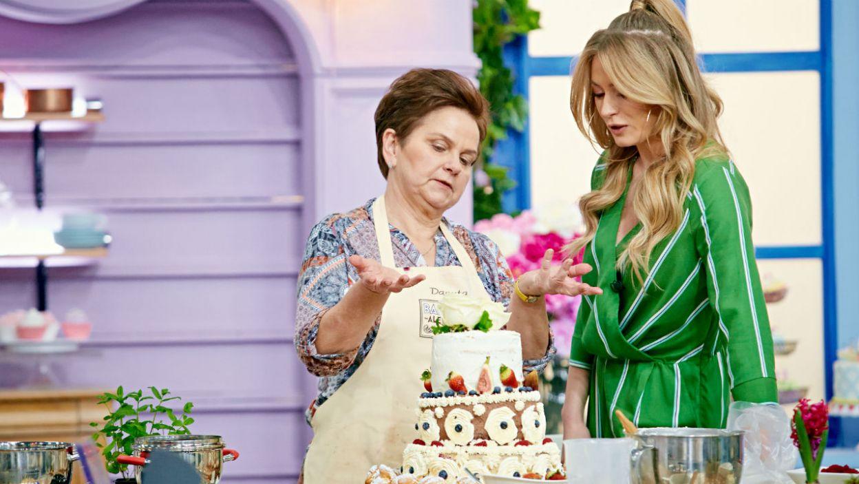 Marcelina chętnie służy słodką poradą (fot. TVP)
