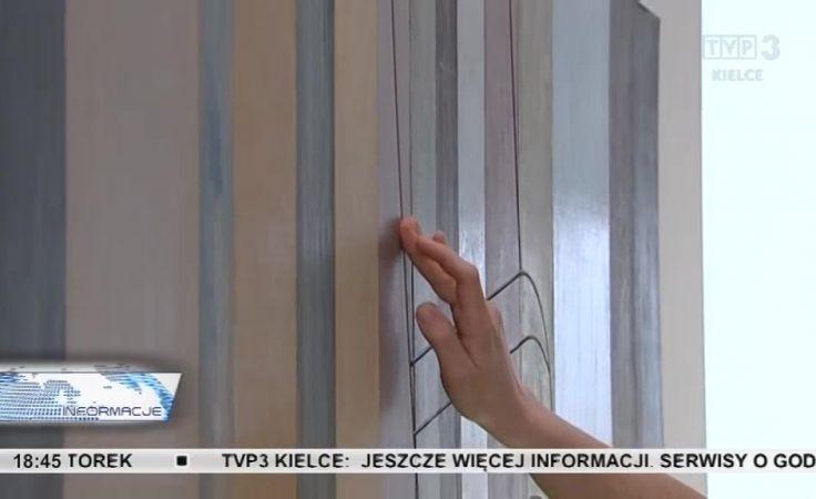 Wystawa obrazów dla niewidomych. Z multimedialnymi przewodnikami