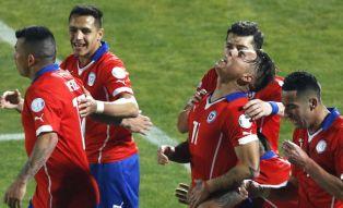 Wszystkie gole Chile w Copa America