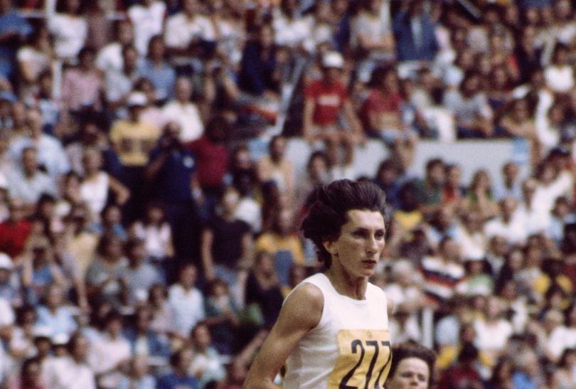 Multimedalistka Irena Szewińska w Montrealu 1976 wygrała bieg na 400 metrów (fot. Getty Images)
