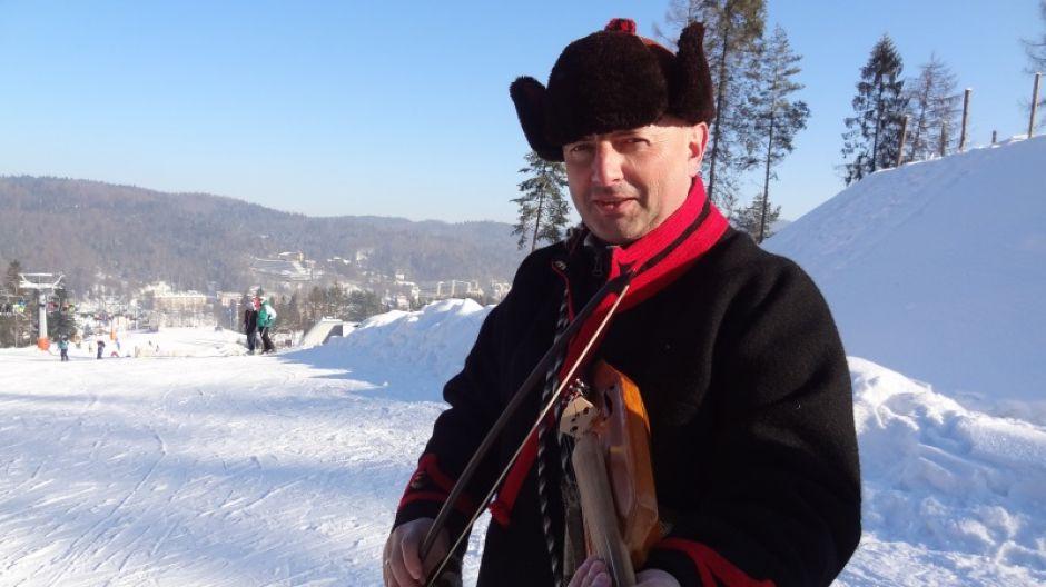 Bartek Koszarek-Benkowy na Górze Krzyżowej w Krynicy-Zdroju (fot. mmas)