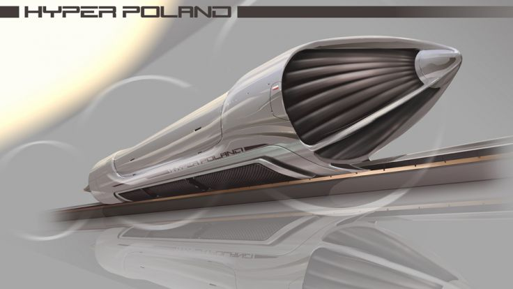 Hyperloop już określa się mianem przyszłości transportu lądowego (fot. Facebook.com/Hyper Poland)