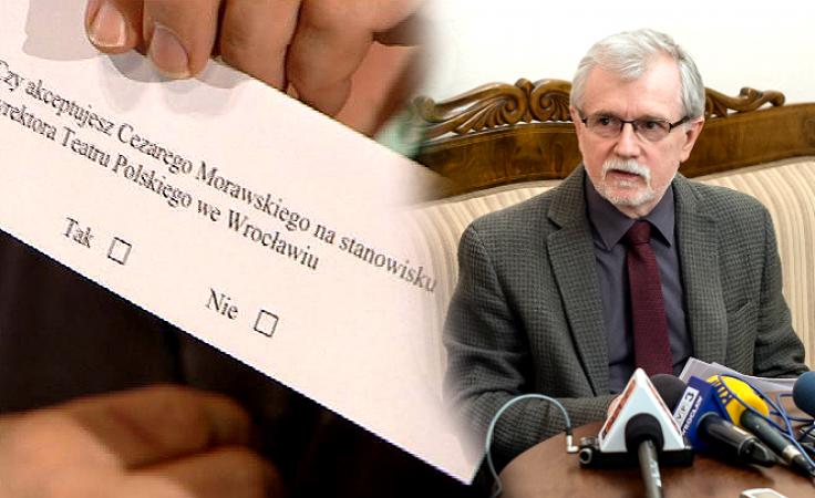 Cezary Morawski (fot. TVP3 Wrocław; PAP/Maciej Kulczyński)