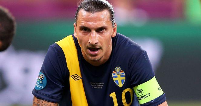 Niepocieszony gwiazdor AC Milan i reprezentacji Szwecji (fot. Getty)