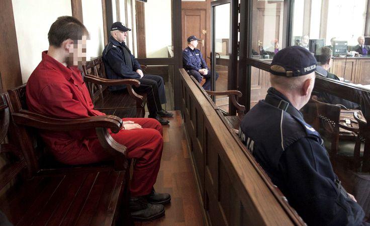 Samuel Nowakowski zabił siekierą 10-latkę (fot. arch.PAP/Aleksander Koźmiński)