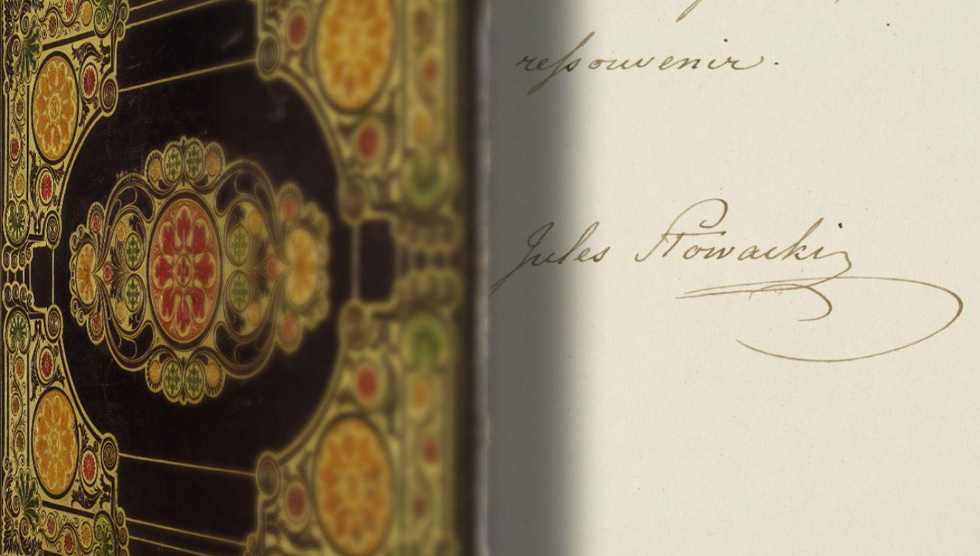Rękopis Juliusza Słowackiego trafił do zbiorów Biblioteki Narodowej
