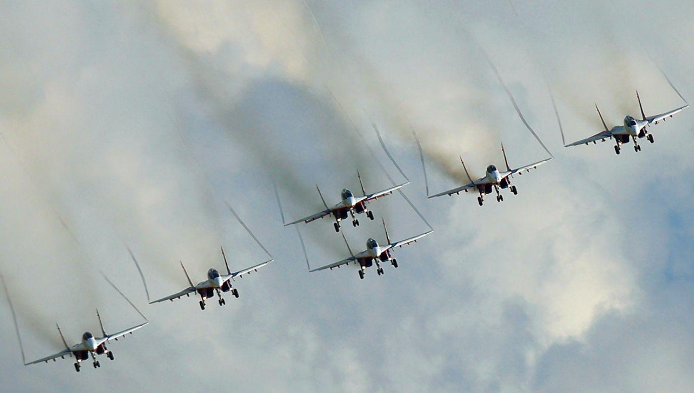 Rosyjskie samoloty MIG-29 (fot. REUTERS/Maxim Shemetov)
