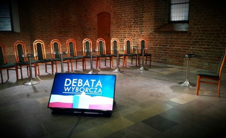 Zapraszamy na drugą debatę parlamentarną na żywo na antenie TVP Olsztyn o godz. 20.00