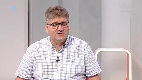 25.04.2018, Koszykarze Stelmetu rozpoczynają walkę o obronę mistrzowskiego trofeum, gość: Janusz Jasiński