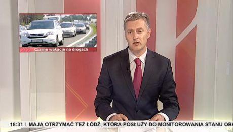 25.08.2015, Coraz więcej wypadków na lubuskich drogach, gość: kom. Sławomir Konieczny