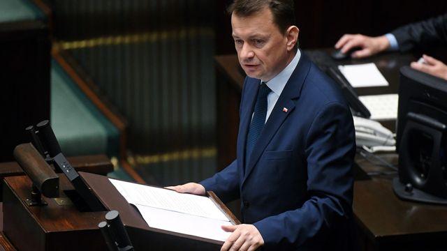 Błaszczak: trzeba wyciągnąć wnioski ze śmierci Igora Stachowiaka
