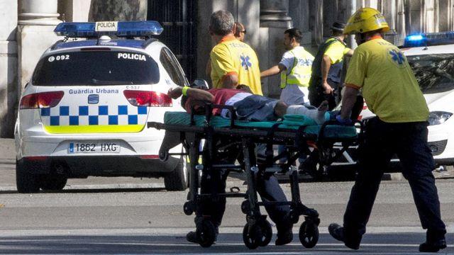 Seria ataków w Katalonii. Jest wielu zabitych i rannych