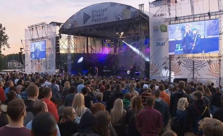 Green Festiwal po raz czwarty. Dziś drugi dzień muzycznej uczty
