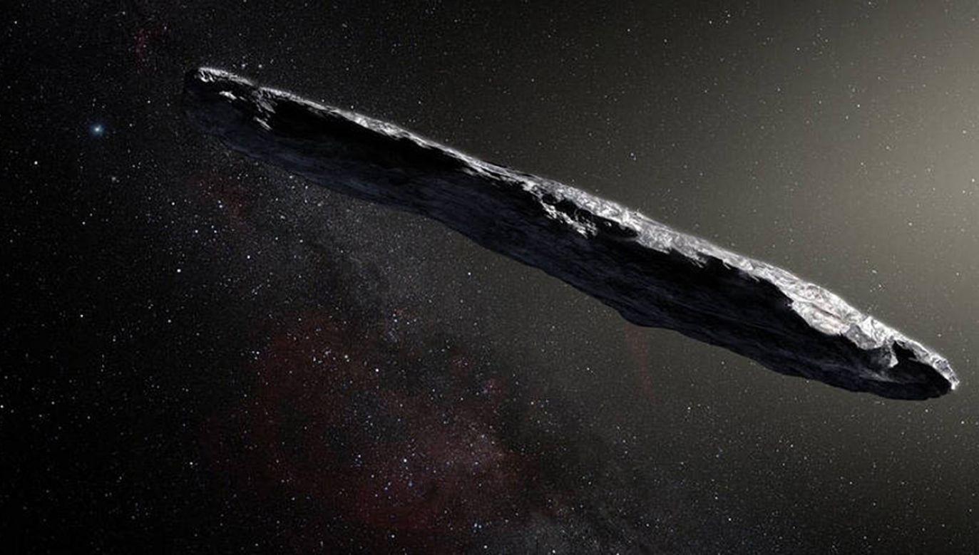 Artystyczna interpretacja wyglądu planetoidy (fot. European Southern Observatory/M. Kornmesser/NASA)