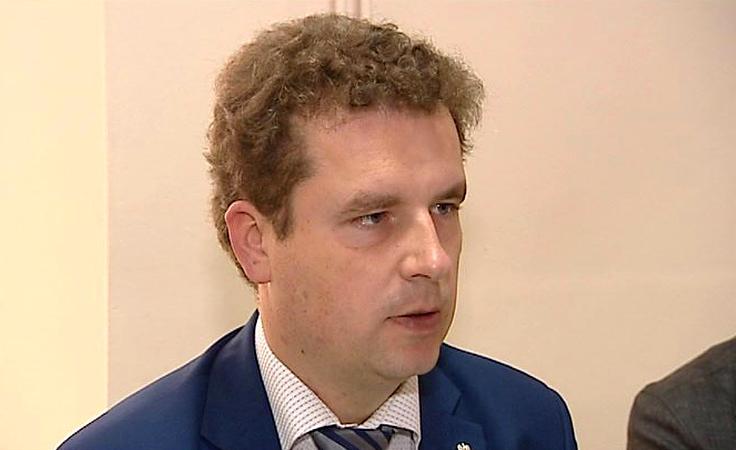 Jacek Wilk - kandydat Nowej Prawicy odwiedził Rzeszów