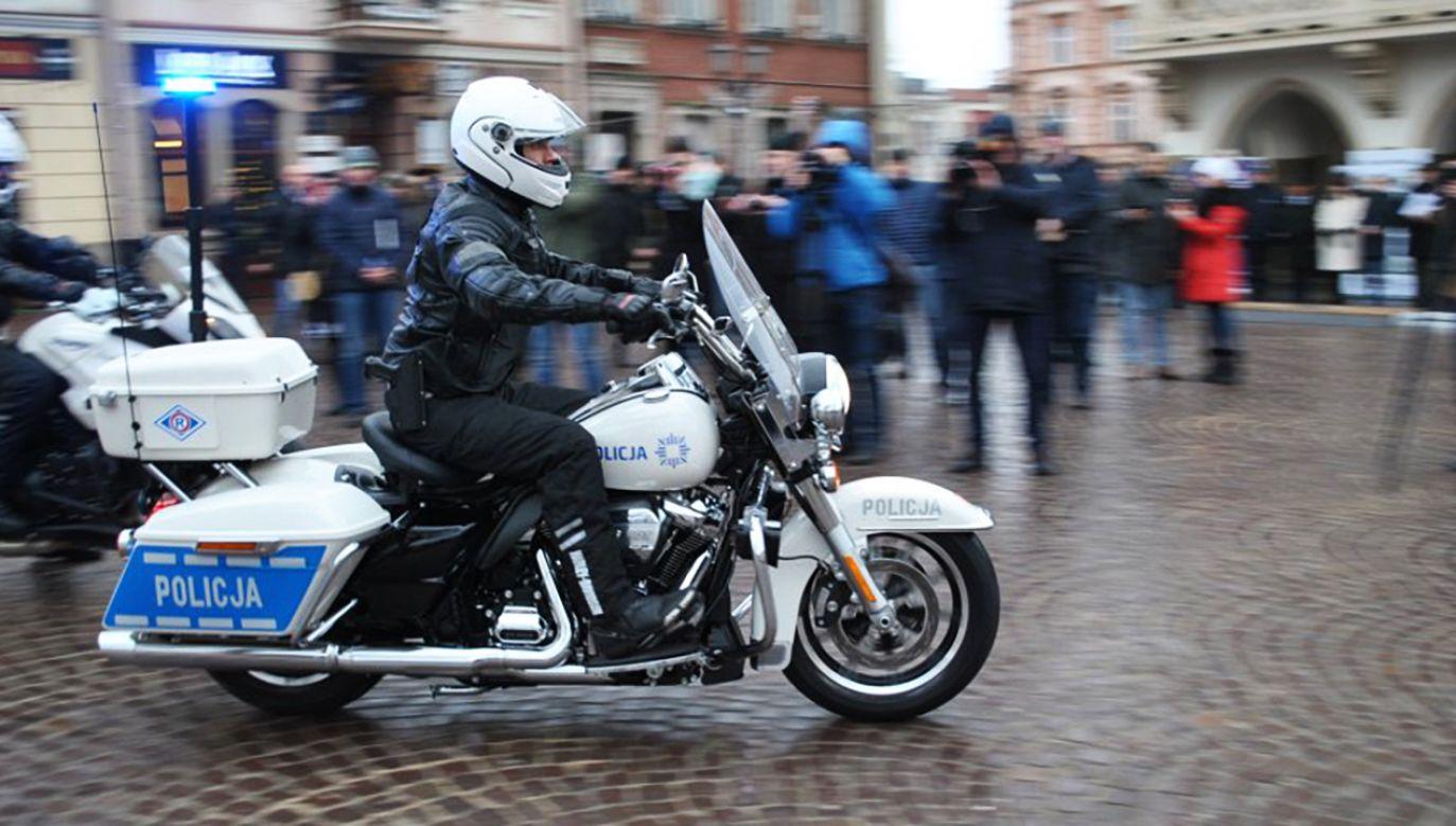 Model Road King osiąga prędkość do 200 km/h (fot. podkarpacka.policja.gov.pl)