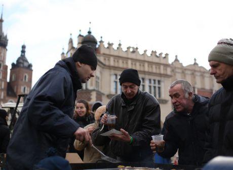 18. Wigilia dla potrzebujących w Krakowie