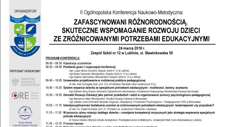 II Ogólnopolska Konferencja Naukowo-Metodyczna