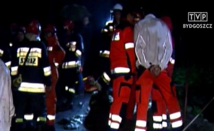 Pomoc ratowników w Studnisku na nic się niestety 2 czerwca wieczorem nie zdała