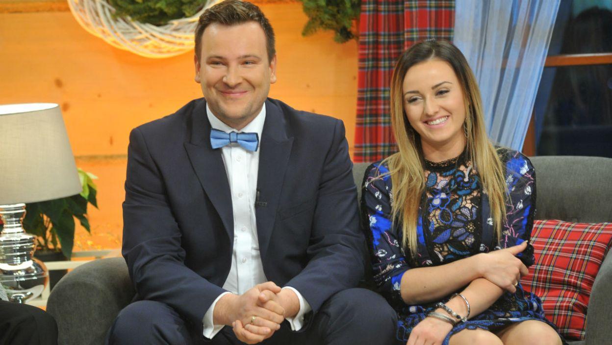 Grzegorz i Ania poznali się w drugiej edycji programu. Dziś są małżeństwem, a rok temu zostali rodzicami (fot. TVP)