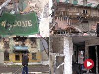 To tu toczyły się najcięższe walki na Ukrainie. Ekipa TVP Info w zrujnowanym Debalcewe