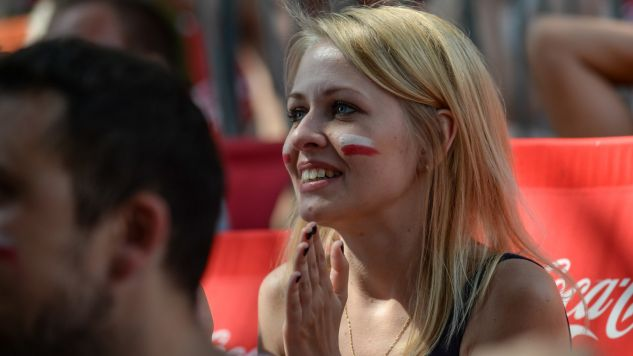 Mecz dostarczył nad Wisłą mnóstwo emocji (fot. PAP/Marcin Obara)