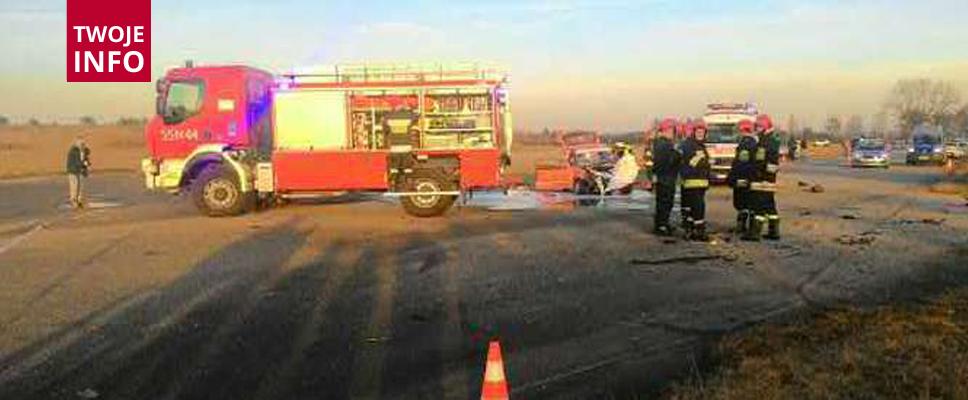 W wypadku rannych zostało pięć osób