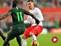 Mecz towarzyski: Polska – Nigeria (1. połowa)