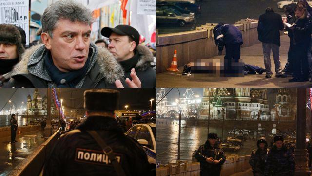 Borys Niemcow zastrzelony w centrum Moskwy.  Dostał cztery strzały w plecy