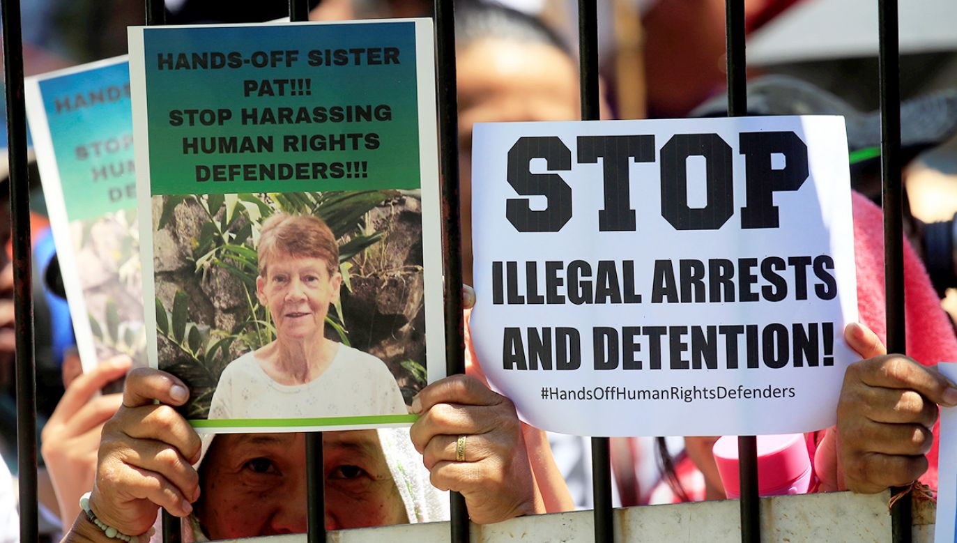 71-letnia siostra Patricia Fox musi opuścić Filipiny w ciągu 30 dni (fot. REUTERS/Romeo Ranoco)