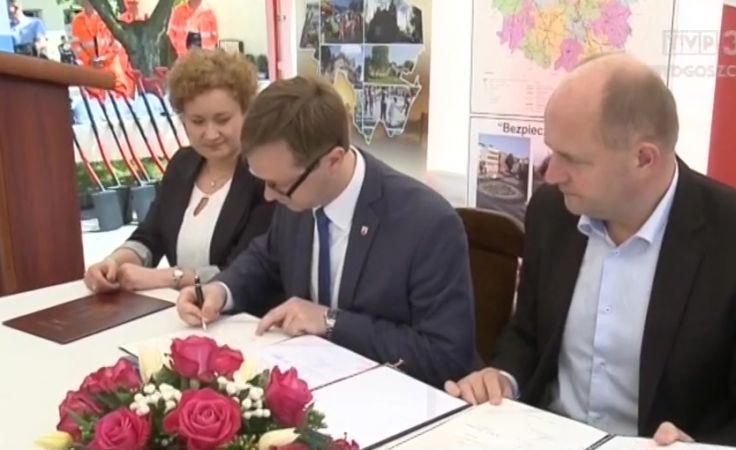 Rozpoczyna się przebudowa drogi wojewódzkiej Stolno-Wąbrzeźno
