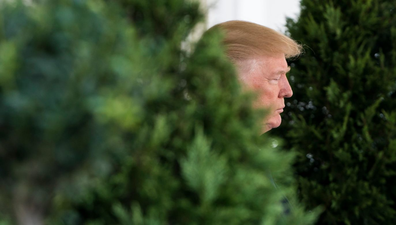 Prezydent Donald Trump negatywnie ocenia szanse na dogadanie się z Koreą Płn. (fot. PAP/EPA/JIM LO SCALZO)