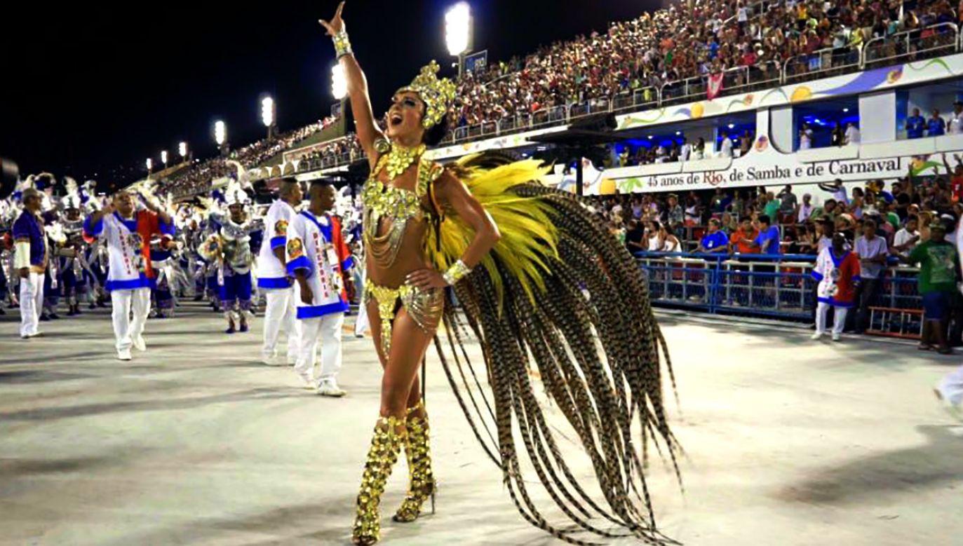 Kobieta w tym roku także stanęła na czele tancerzy (fot. FB/Kashira Stocka)