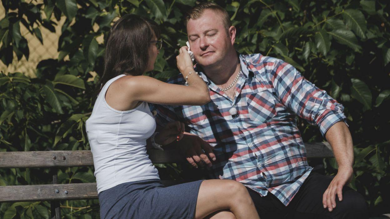 – Jeśli się zakocham to zostanę. A Łukasz jest na dobrej drodze – Agata jest ostrożna w wyrażaniu uczuć (fot. TVP)