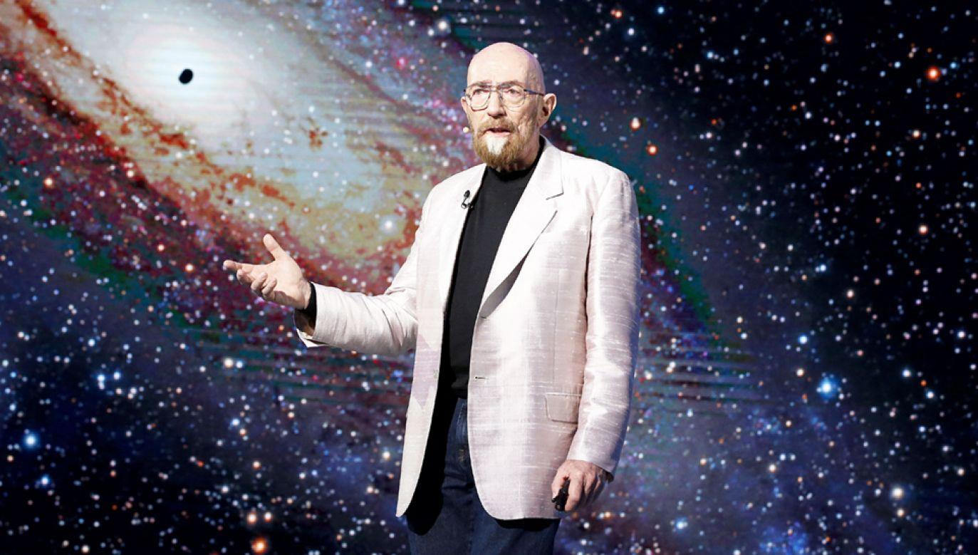 """Kip S. Thorne jest """"motorem"""" i """"reżyserem"""" budowy detektora LIGO i obserwacji fal grawitacyjnych (fot. PAP/EPA/JEON HEON-KYUN)"""