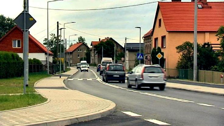 Ul. Strzegomska (fot. TVP3 Wrocław)