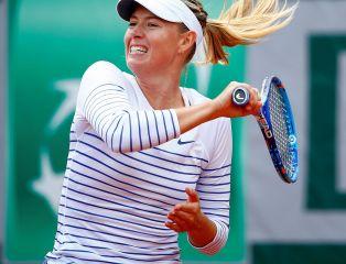 French Open: awans Szarapowej, porażka Halep