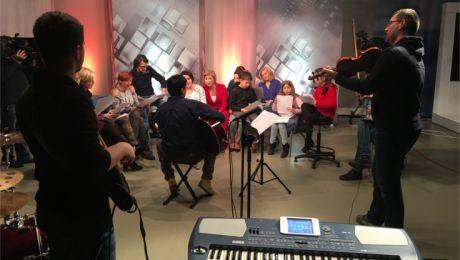 Próba przed koncertem fot. TVP3 Rzeszów