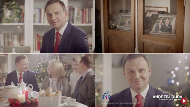 """Świąteczne życzenia akcją wyborczą? """"Kampania się nie rozpoczęła, ale Duda mruga do wyborców"""""""