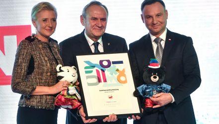 Sukces Kamila Stocha zdominował spotkanie rodziny olimpijskiej