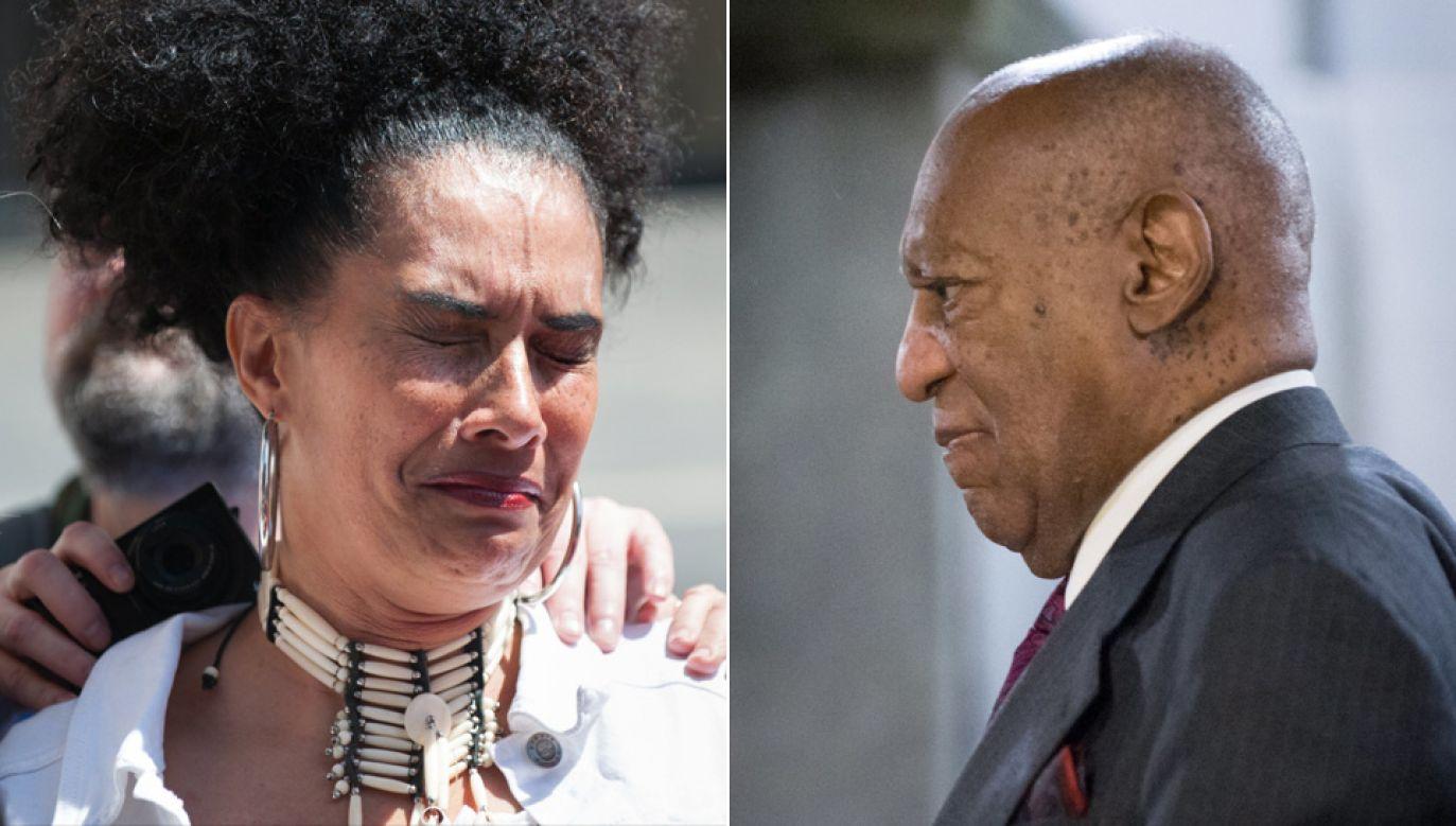 44-letnia Constand oskarżyła 80-letniego dziś Cosby'ego o to, że w 2004 roku ją zgwałcił (fot. PAP/EPA/TRACIE VAN AUKEN)