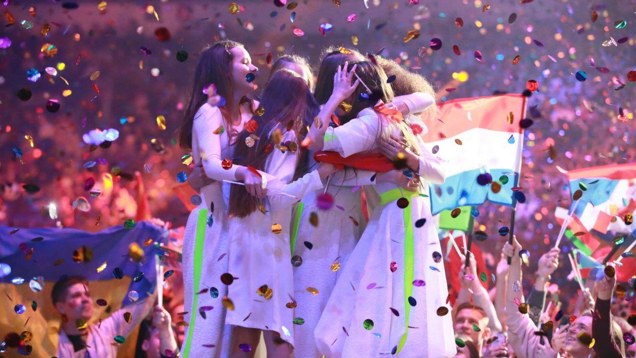 To najwyższy wynik jaki Polska kiedykolwiek osiągnęła na konkursie Eurowizji. Radość była ogromna (fot. A. Putting/junioreurovision.tv)