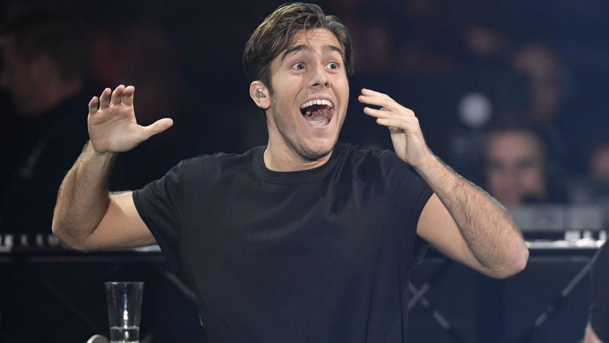 """Szwecja: Benjamin Ingrosso to piosenkarz z włoskimi korzeniami. Jego eurowizyjna piosenka nosi tytuł """"Dance You Off"""" (fot. PAP)"""