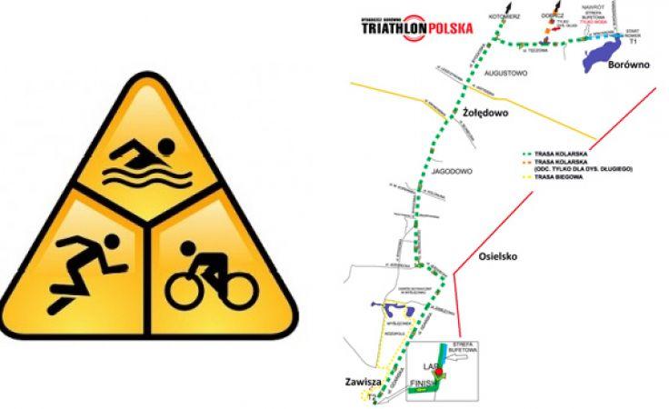 Trasa Triathlonu
