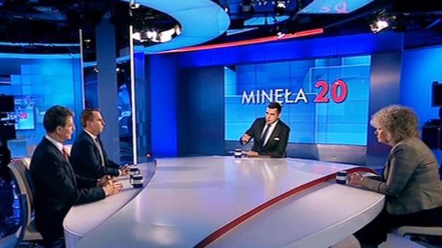 """W """"Minęła dwudziesta"""" o repolonizacji mediów (fot. TVP Info)"""
