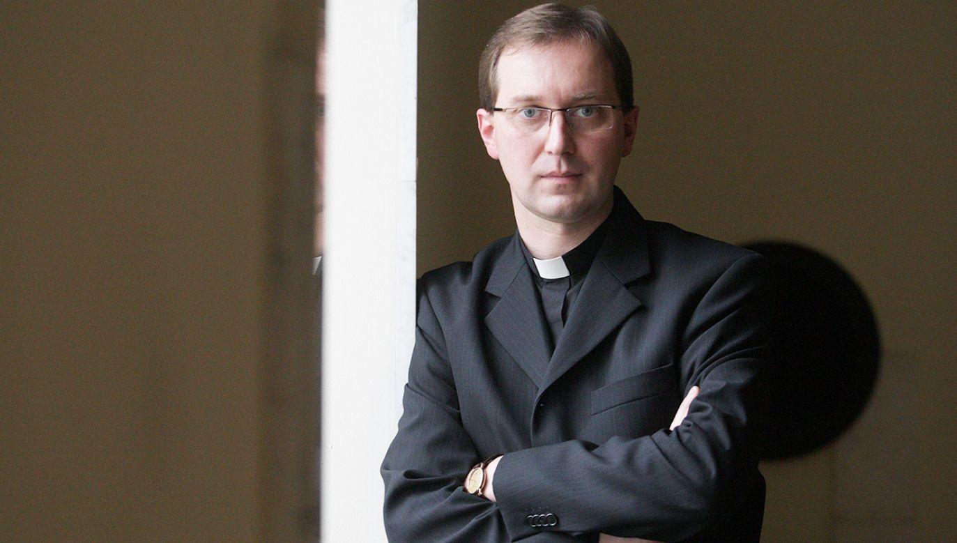 ks. Marek Gancarczyk (fot. arch.PAP/Grzegorz Jakubowski)