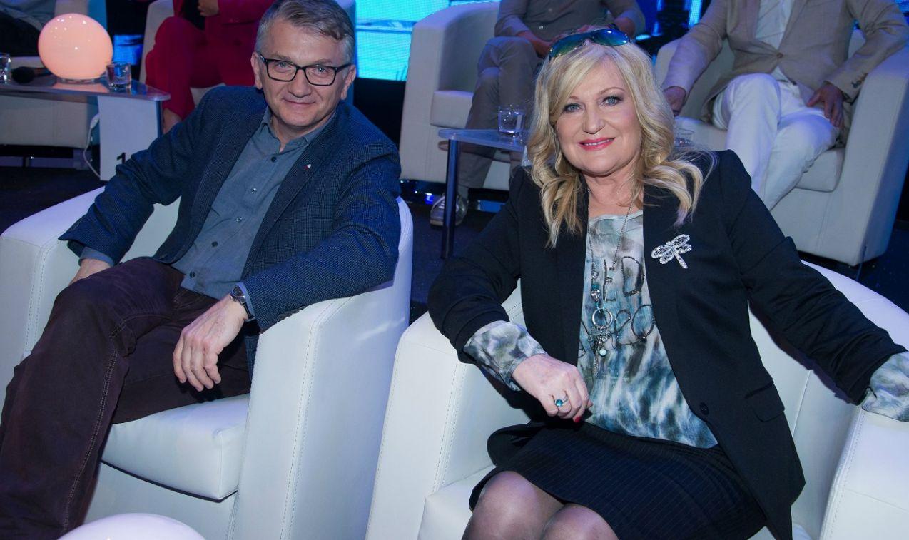 Dariusz Kowalewski i Marlena Drozdowska znali odpowiedzi na większość pytań (fot. TVP)