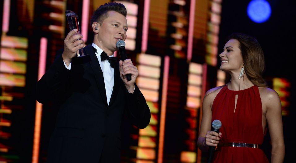 Rafał Brzozowski uhonorowany nagrodą specjalną Programu 1 TVP (fot. TVP)