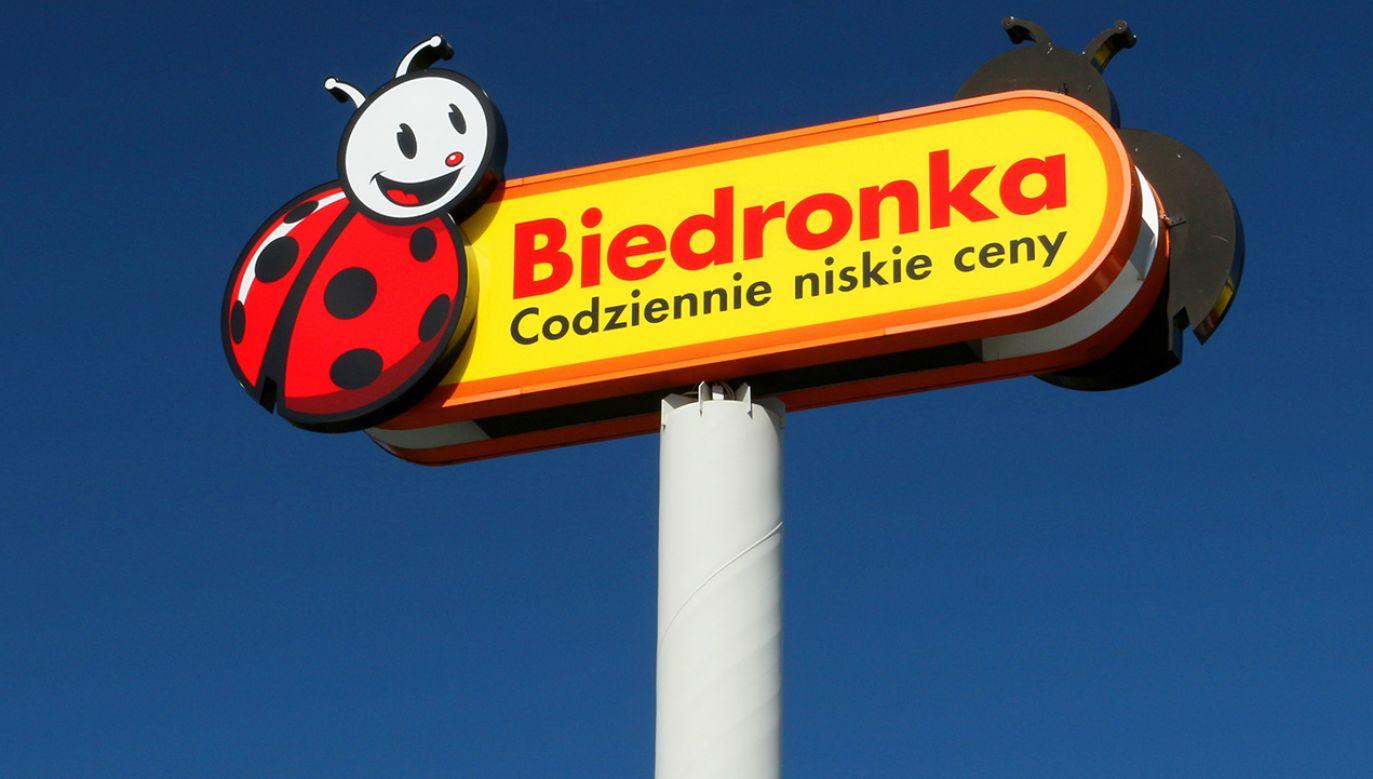 Firma Jeronimo Martins jest właścicielem m.in. sieci Biedronka (fot. Shutterstock/Lukasz Siekierski)